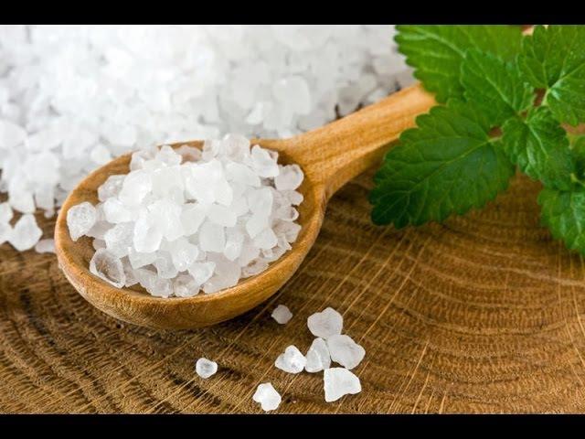 Солевой пилинг для кожи головы 2 рецепта