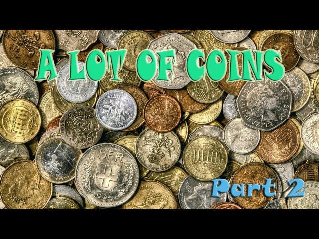 A LOT OF COINS Part 2 I Canada Cent USSR Soviet Russia Polska Rzecz Pospolita Pound UK Deutsche