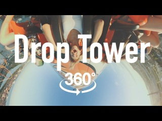 Жар-птица VR 360 | Drop tower video 360
