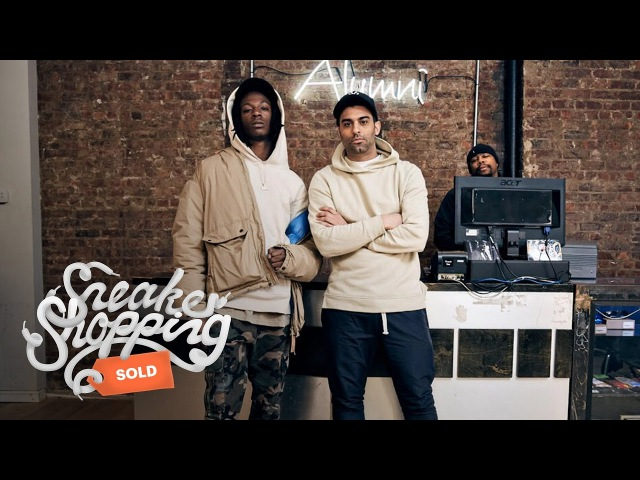 Joey Bada$$ Goes Sneaker Shopping with Complex