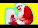 Щенячий Патруль ПЛОХОЙ САНТА Bad Santa Баба Яга заколдовала Санту Мишка из мультика