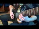 Meshuggah Bleed guitar cover by Kuba Szostak full song rythm parts only