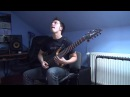Meshuggah Do Not Look Down guitar cover by Kuba Szostak full song rythm parts only