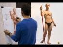 Александр Рыжкин об этапах рисования Шестая часть о мужской фигуре