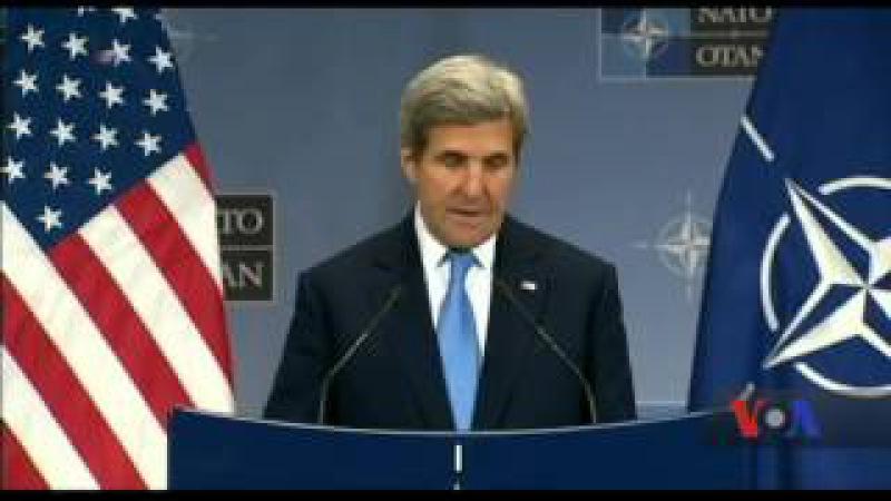 Держсекретар Джон Керрі у штаб-квартирі НАТО у Брюсселі