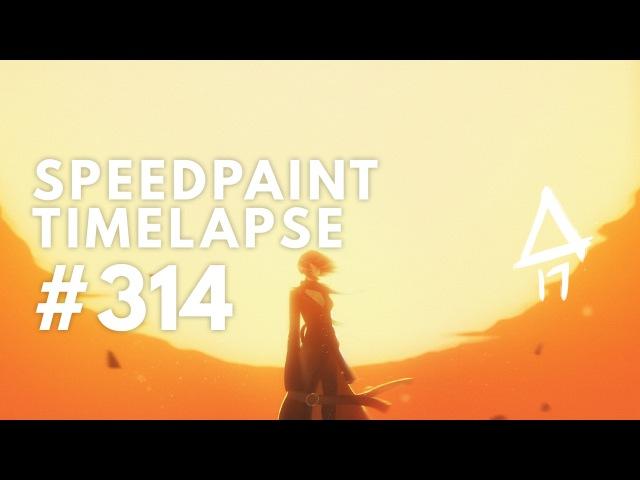 Daily Warmup 314 - Speedpaint Timelapse