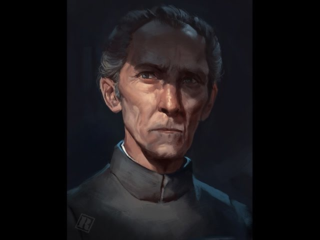 Grand Moff Tarkin speedpaint (real-time no audio)