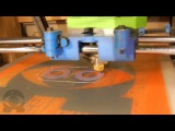 Ohmstruder NEMA17 Prototype Calibration - Reprap Mendelmax 3D Printer