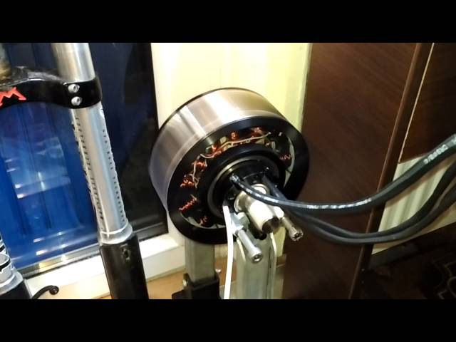Revolt 160s BLDC motor spinning on tiny VESC