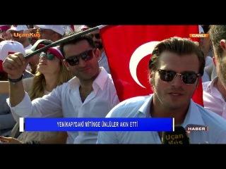 Kıvanç Tatlıtuğ, Kenan İmirzalıoğlu, Sibel Can / Yenikapı Röportajı / UçanKuş TV