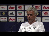 Jose Mourinho Discusses Paul Pogba Speculation in China
