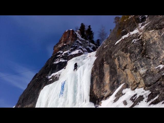 Чемпионат Кемеровской области по ледолазанью 24-25 февраля