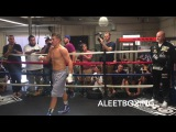 GENNADY GOLOVKIN STARTS CAMP FOR DANNY JACOBS