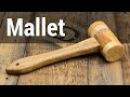 Hardwood Woodworking Mallet Деревянная киянка