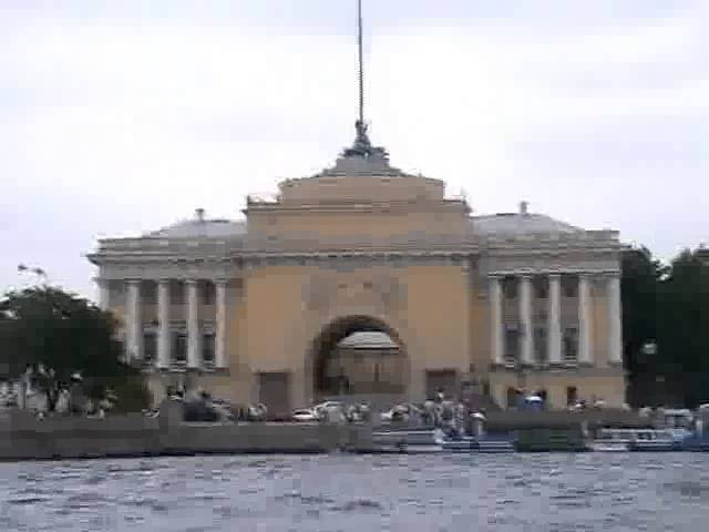 Москва Санкт Петербург Москва 2009 теплоход Плеханов Круиз 4 ч