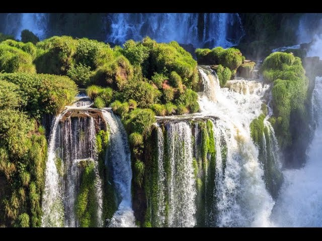 WORLD'S PARADISES in 4K (Part II) Nature Relaxation™ Journey 2 w Music for Therapeutic Stress Relief