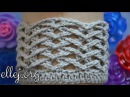 Ребристый узор Чайки по кругу • Мастер класс по вязанию крючком • Seagulls Crochet Stitch