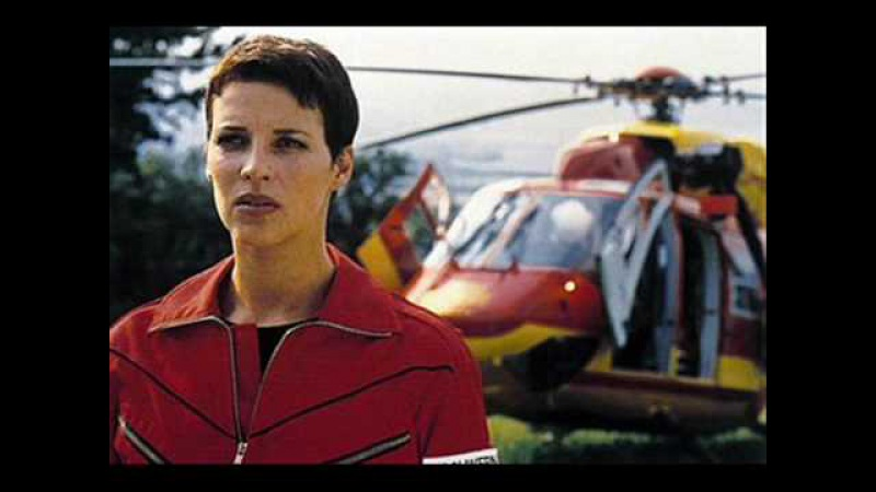 Sabine Petzl Spielt als Pilotin Biggi Schwerin die beste Pilotin von Medicopter 117