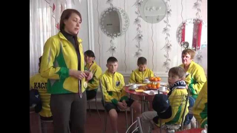Команда Каслинского ЦПД победитель в хоккее на валенках!