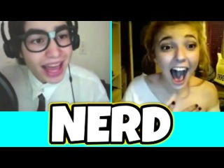 NERD IMPRESSES GIRLS ON OMEGLE WITH HIS TALENT