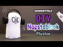 Easiest Plushie Ever Made! DIY Undertale Napstablook Plushie (Free Pattern)