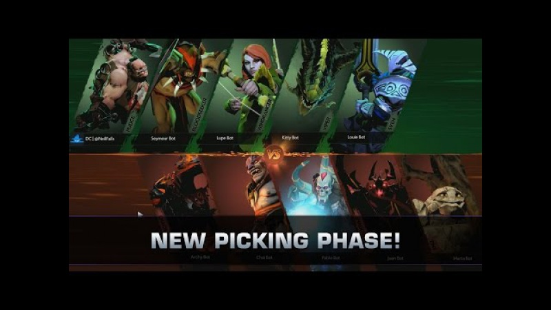 Dota 2 New Pregame (Picking Phase) - Patch 7.00