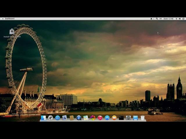 Gmac Linux 14.04 - обзор дистрибутива в стиле Mac OS