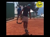 """Daily Tennis Magazine on Instagram: """"What's your record? ? Rafael Nadal shows off some decent skills. ⚽? Captured by @fragiambe ▃▃▃▃▃▃▃▃▃▃▃▃▃▃"""""""