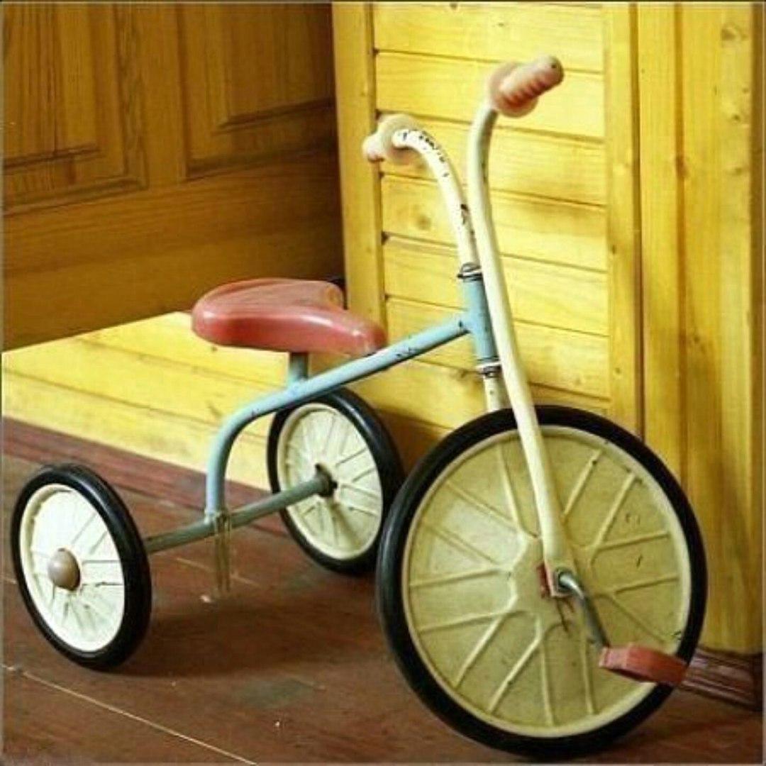 Ремонт своими руками трехколесный детский велосипед