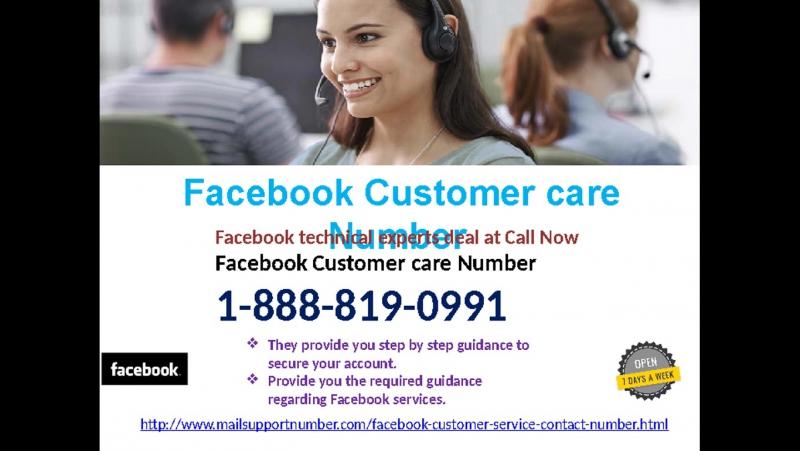 Get smart with Facebook Customer Service 1-888-819-0991