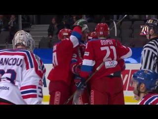 Шведские хоккейные игры. Россия - Чехия - 4:2. Голы и опасные моменты