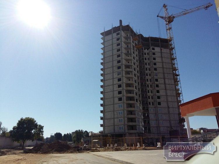 Строители Брестской области перевыполнили план по возведению жилья с господдержкой