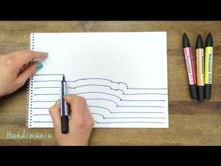 Лайфхакерша. Как нарисовать руку 3D