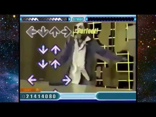 Charles Manson Dance Dance Revolution Meme
