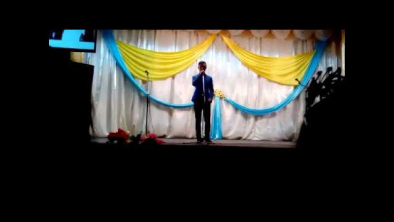 Посвящение в студенты Беспалов Евгений АТК-7 г.Есиль 2016