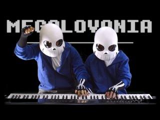 Undertale - MEGALOVANIA Piano Duet   Frank Zach Piano Duets
