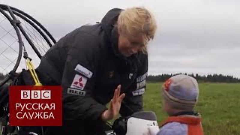 Орнитолог Саша Денч прилетела из России вместе с лебедями
