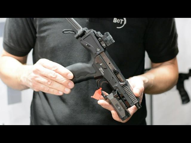 SHOT Show 2017: BT USW, VP9 Aimpoint Nano