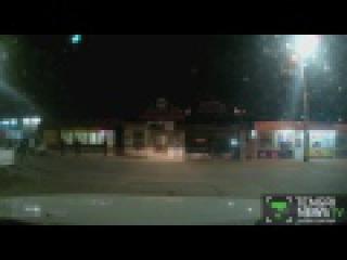 Видеорегистратор заснял наезд на пешеходов в Таразе