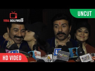 UNCUT - Sunny Deol, Amisha Patel And Preity Zinta New Movie Bhaiyyaji   Interview