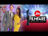 Preeti Zinta And Husband At Filmfare Awards 2017
