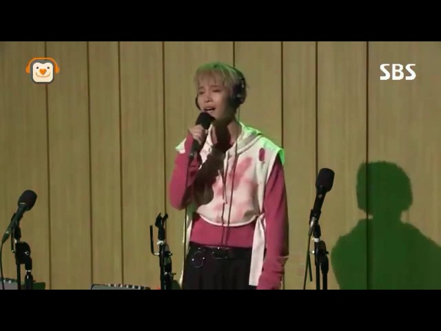 Taeil NCT - Because of you LIVE