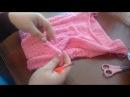 МК.Красивое детское платье .Вязание спицами. 2-часть(заключительная)