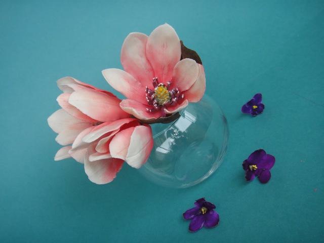 цветы магнолии из мастики. Gumpaste flowers. Making a Gumpaste Magnolia.