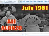 Muhammad Ali vs Alonzo Johnson 8th of 61 - July 1961 - HQ Version -