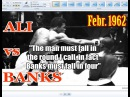 Muhammad Ali vs Sonny Banks 11th of 61 - Feb. 1962 - HQ Version -