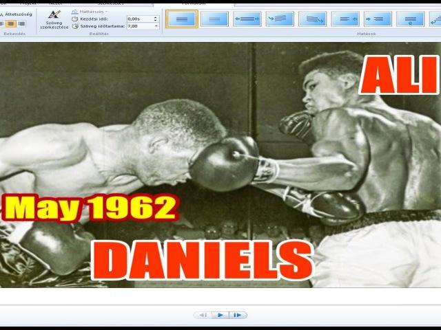 Muhammad Ali vs Billy Daniels 14th of 61 - May 1962 - Round 1,4,5,6,7 - HD Version