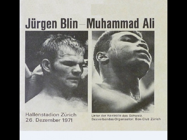 Muhammad Ali vs Juergen Blin 35th of 61 Dec 1971