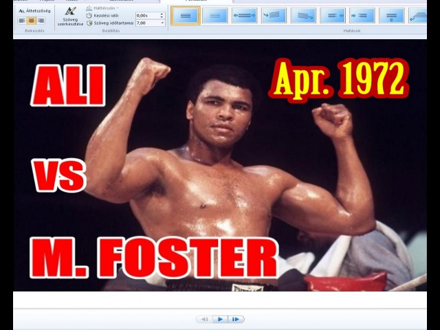 Muhammad Ali vs Mac Foster 36th of 61 Apr 1972