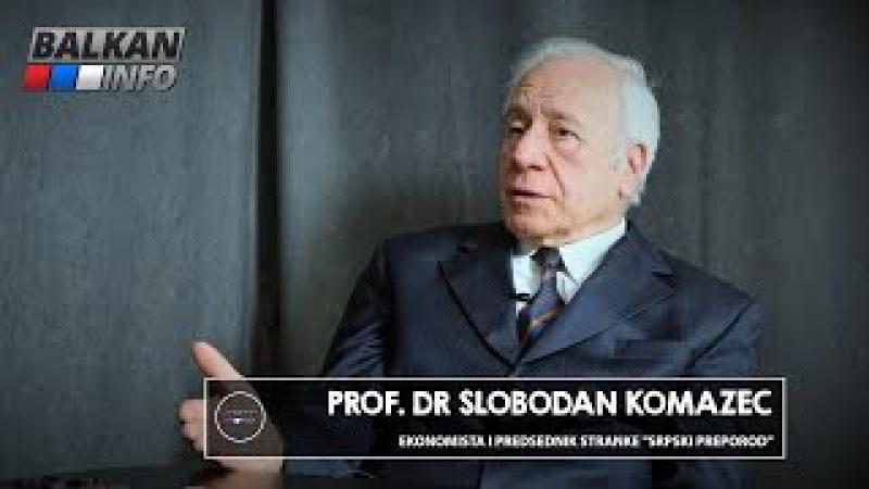 INTERVJU Slobodan Komazec Vučić uništava državu zato što ne zna ništa o ekonomiji 08 01 2016